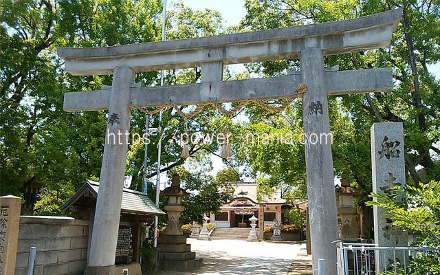 船寺神社の鳥居