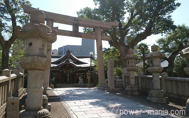 八宮神社を出たところ
