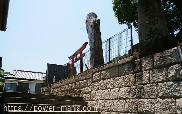 五宮神社へのアクセス・裏口
