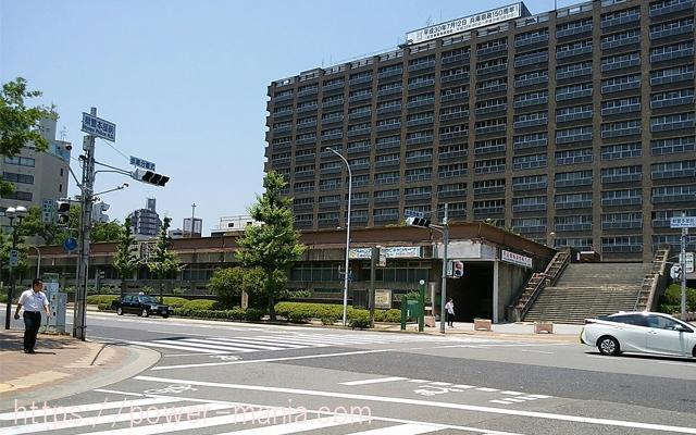 四宮神社へのアクセス・兵庫県庁