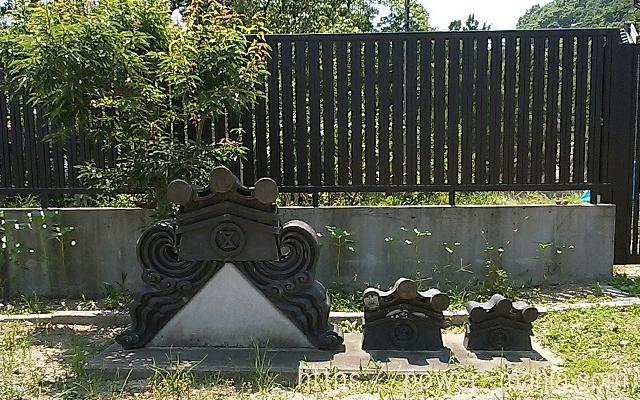 五宮神社の旧社殿の屋根