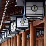 神社の灯篭