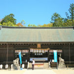伊弉諾神宮の拝殿