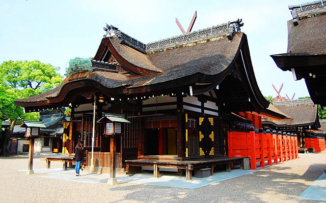 住吉大社の拝殿