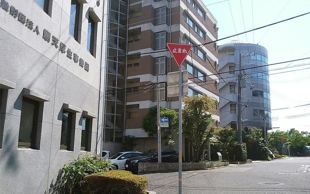 神戸駅へのアクセス・左に曲がる