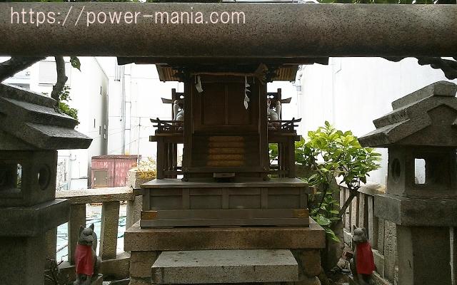 松尾稲荷神社の稲荷社