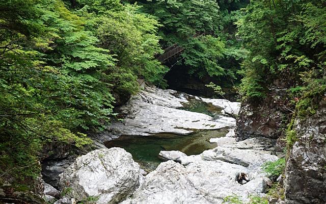 天河辨財天社がある奈良県吉野郡の川
