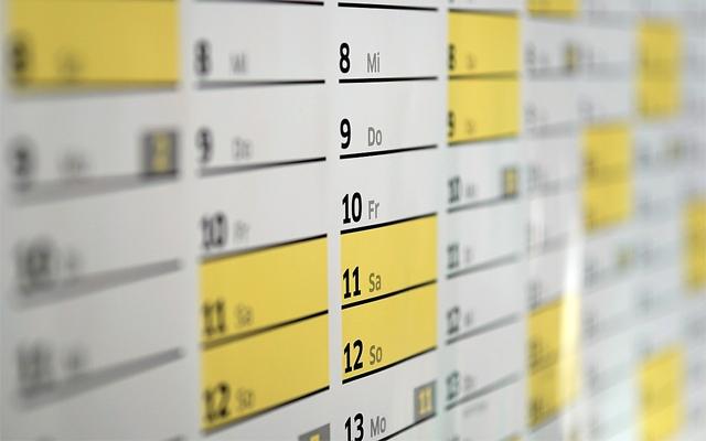 吉日のイメージ・カレンダー