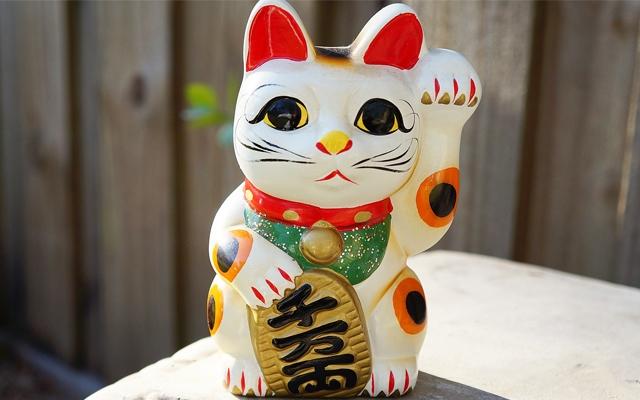 金運アップのイメージ・招き猫
