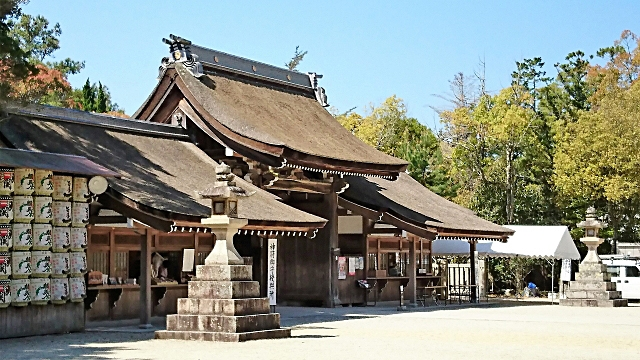 伊弉諾神宮の門