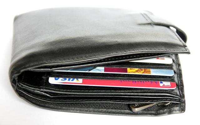財布がいっぱい