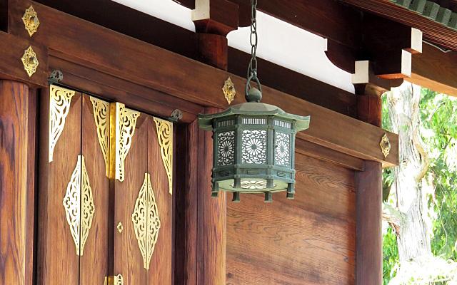 大将軍八神社の灯り