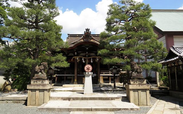 大将軍八神社・社殿