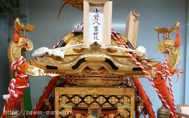 小野八幡神社の御祭神