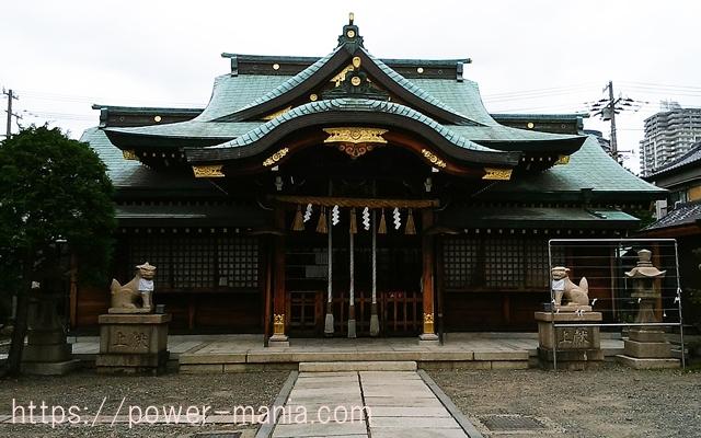 駒林神社の拝殿