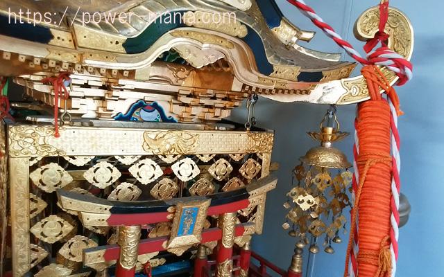 小野八幡神社の御神輿