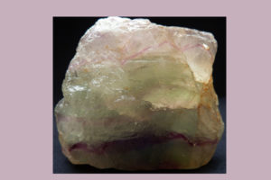 フローライトの原石