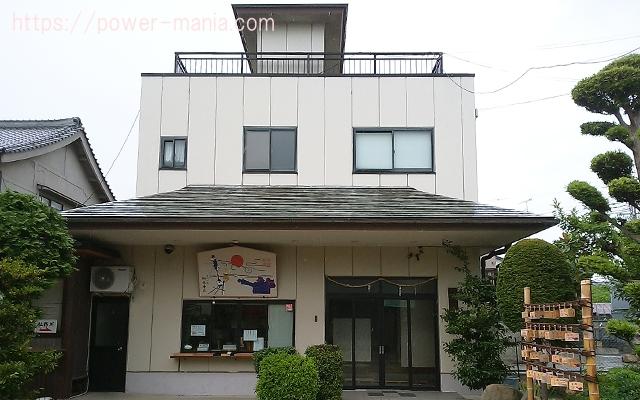 駒林神社の社務所
