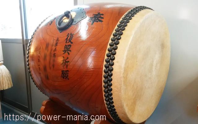 小野八幡神社の太鼓