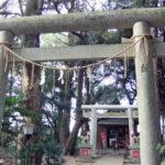 息栖神社の鳥居