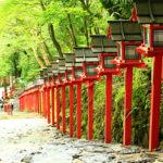 貴船神社の灯篭