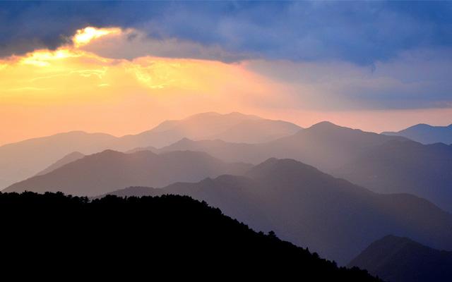 玉置神社がある熊野の山