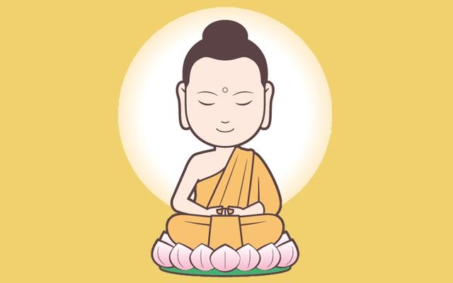 仏像のイラスト