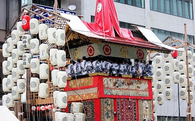 八坂神社のお祭り・祇園祭の山鉾