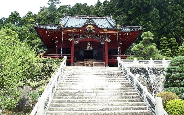 身延山久遠寺のお堂