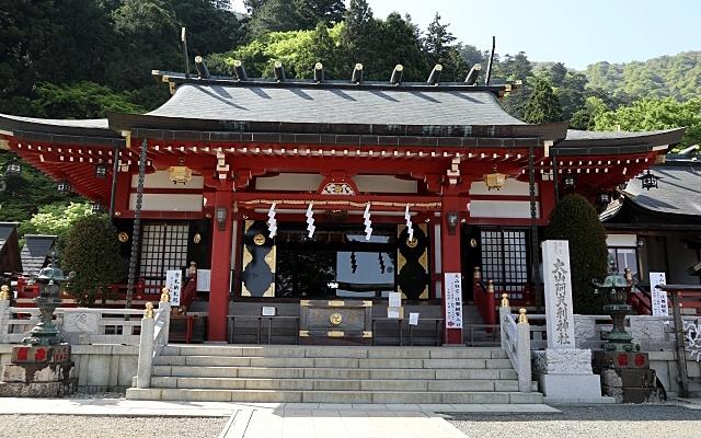 大山阿夫利神社の下社