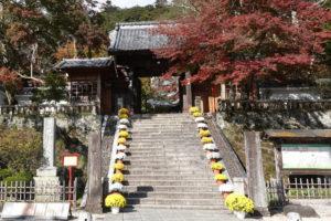 修禅寺の参道