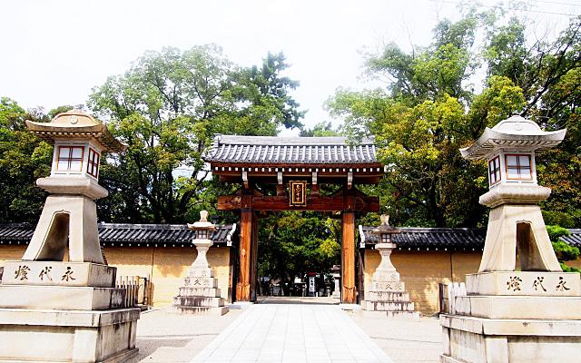 西宮神社の表大門