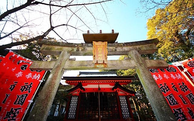 八坂神社の蛭子社