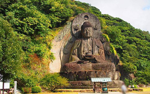 日本寺の大仏様