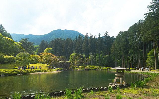 古峯神社の古峯園