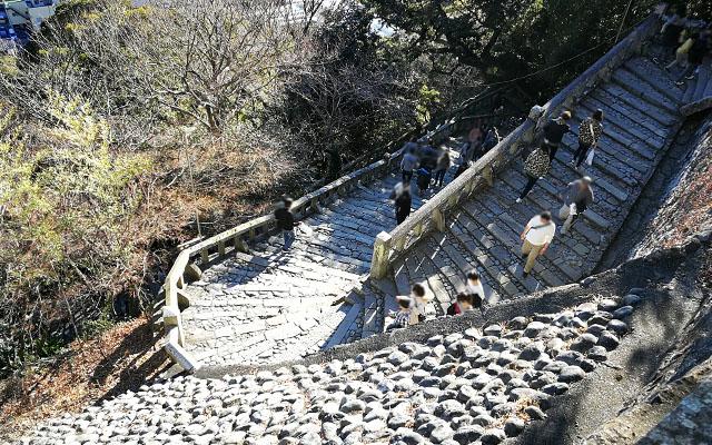 久能山東照宮の階段