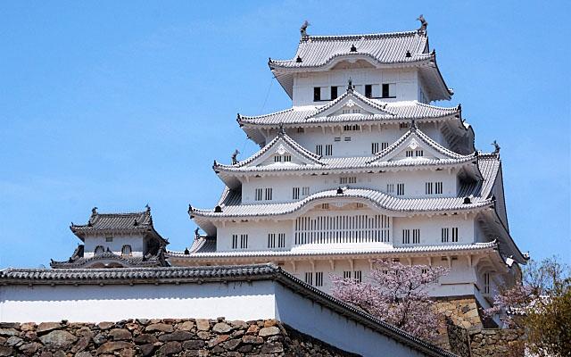 姫路城全体