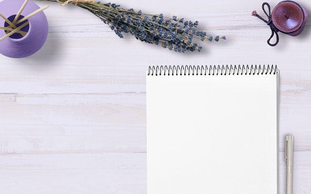 願い事を書く紙とペン