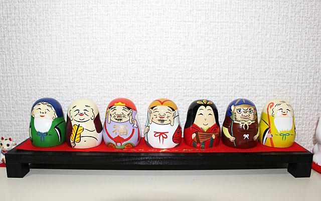 覚林寺の七福神の人形