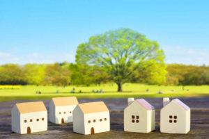 引っ越しのイメージ・家の模型