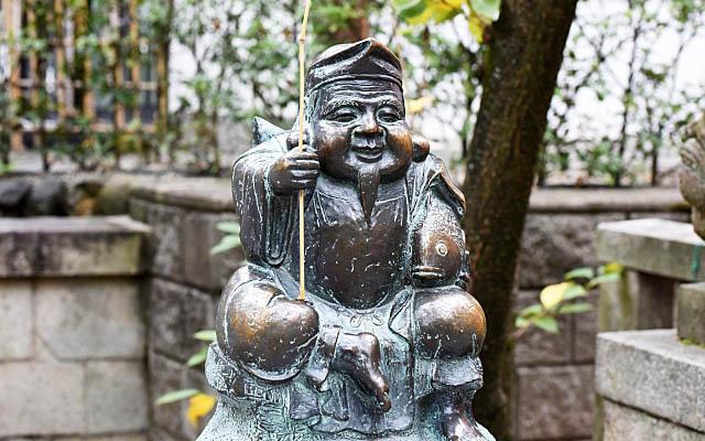 京都ゑびす神社のえびす様