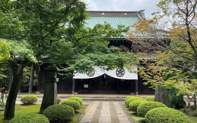 豪徳寺の仏殿