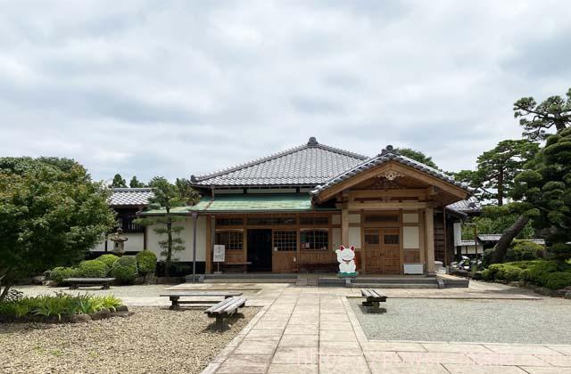 豪徳寺の寺務所