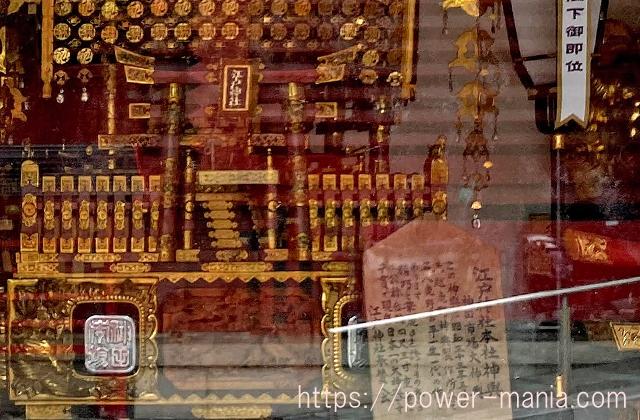 江戸神社の御神輿