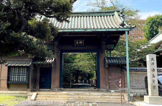 仰高門の入口
