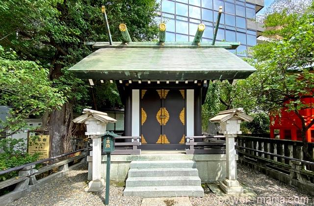 三宿稲荷神社と金刀比羅神社