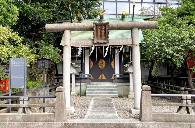 三宿稲荷神社と金刀比羅神社の鳥居