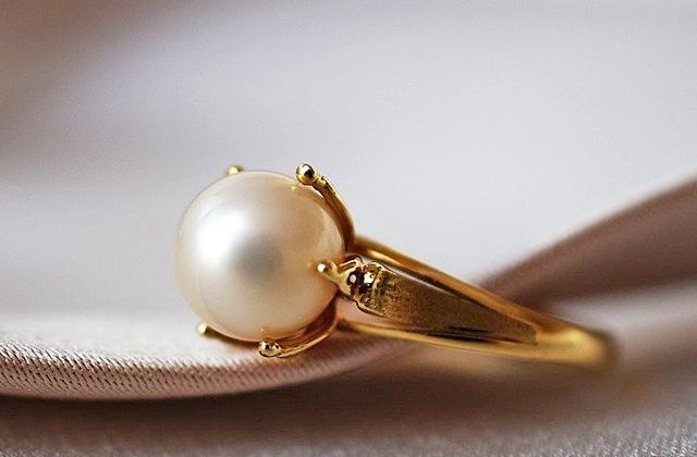 パール(真珠)の指輪