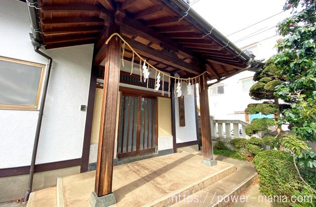 砧三峯神社の社務所