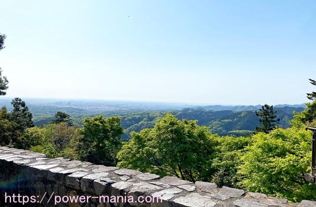 高尾山駅からの眺め
